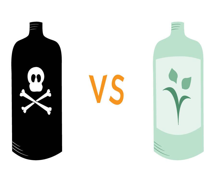 Los productos de limpieza ecológicos son necesarios para cuidar del medio ambiente