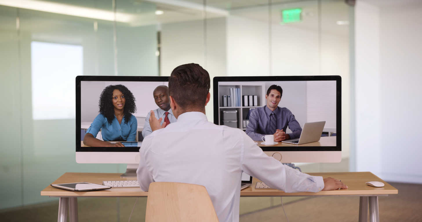 A pesar de su eficacia, todavía no apostamos por las reuniones a través de videollamada